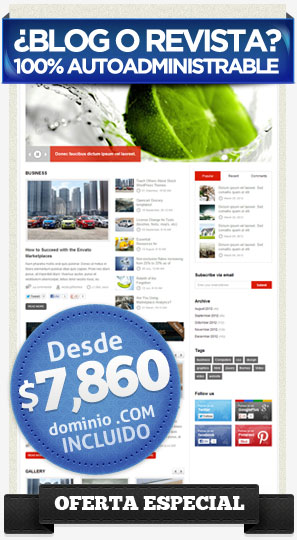 Creación de Páginas Autoadministrables para Revistas en México