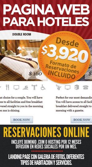 Desarrollo de Páginas Web para Hoteles en Mexico
