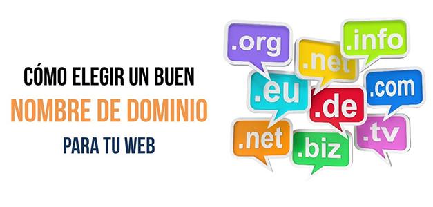 Dominio web para tu negocio